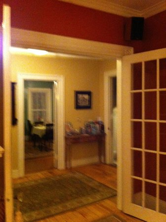 The Chadwick Bed &amp; Breakfast:                   Entrance Hall