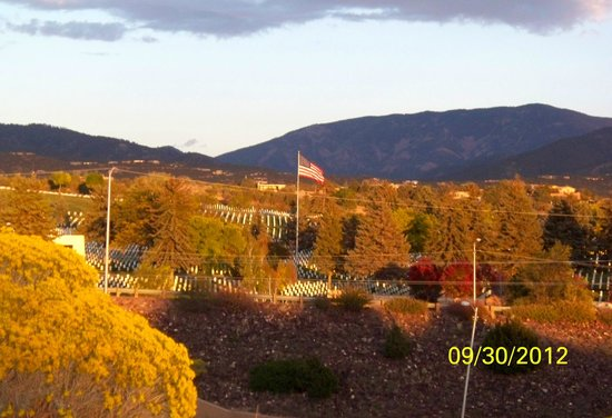The Lodge at Santa Fe :                   View from Hotel II