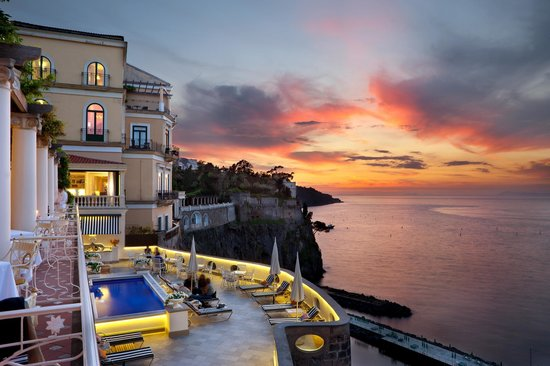Hotel Bellevue Syrene...best in Sorrento