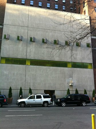 Hudson Hotel New York:                   Front View