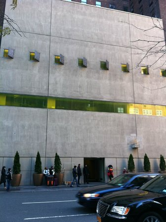 Hudson Hotel New York:                   Front of hotel