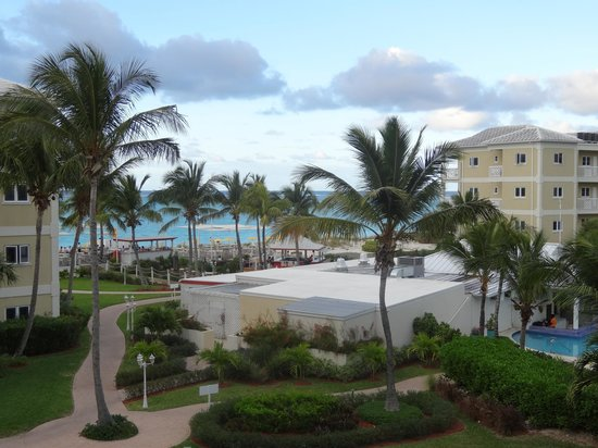Alexandra Resort:                   View from our terrace