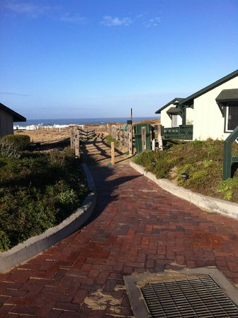 Marina, CA: Path to beach