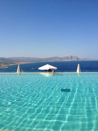 Lindos Blu:                   One of the pools