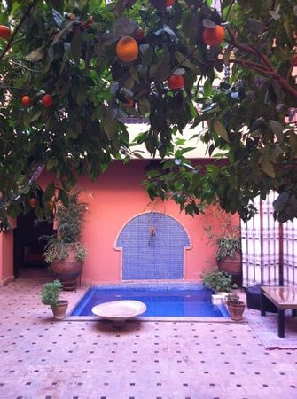 Riad Ajmal: patio