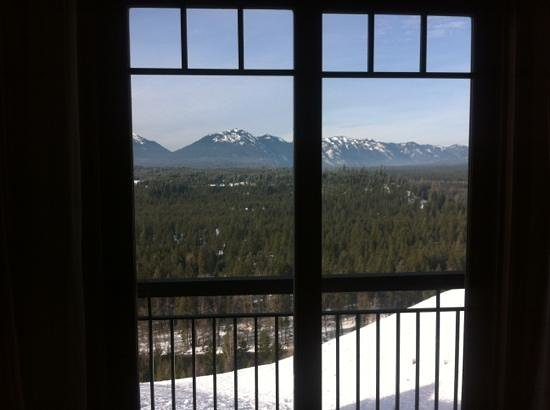 Suncadia Resort:                   room with a view
