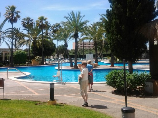 Protur Vista Badia Aparthotel:                   main pool area, lovely x