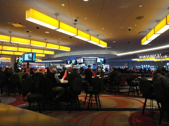 Radisson Hotel Valley Forge: The adjoining casino