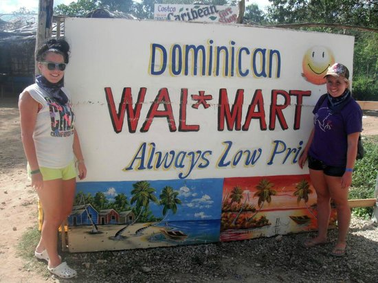 Sirenis Cocotal Beach Resort Casino & Spa: Walmart on the Dune Buggy Tour