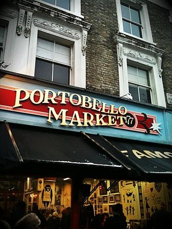 Photos of Portobello Road Market, London