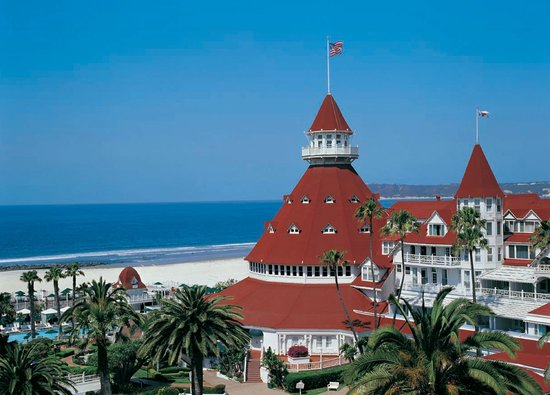 Hotel del Coronado and Beach