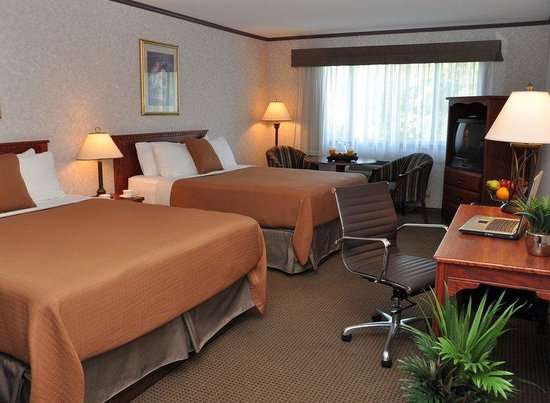 BEST WESTERN Mountainview Inn: Deluxe Two Queen Guestroom