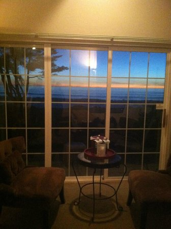 Cambria Landing Inn & Suites:                   view from patio window