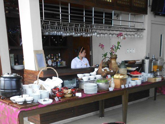 The Cocoon Boutique Hotel:                   Buffet breakfast