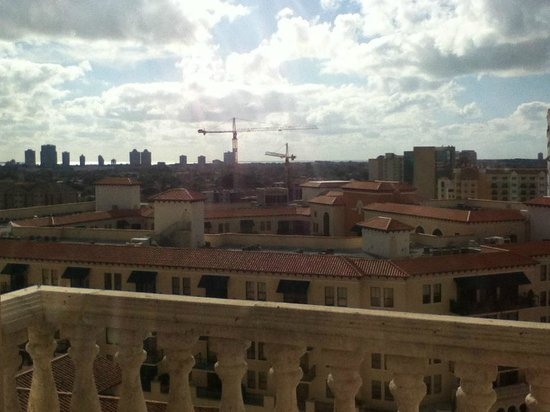 Hyatt Regency Coral Gables:                   14th floor view