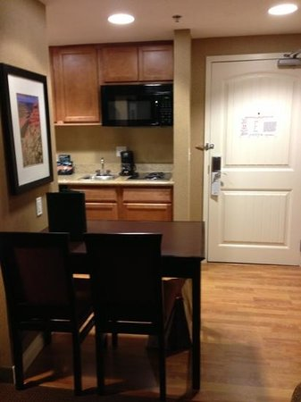 Homewood Suites, SLC Downtown:                   kitchen area