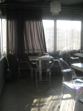 Athens Diamond Hotel:                   Dining area