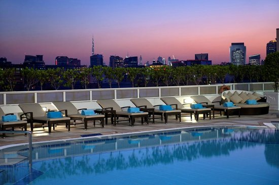Crowne Plaza Dubai-Deira: Pool view