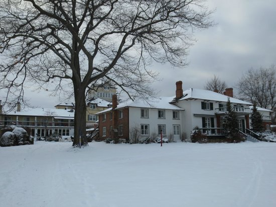 The Briars:                   Original buildings which face Lake Simcoe