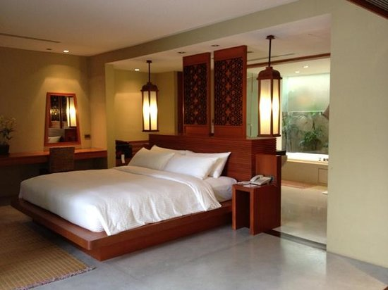 Villa Zolitude Resort and Spa: The bedroom area