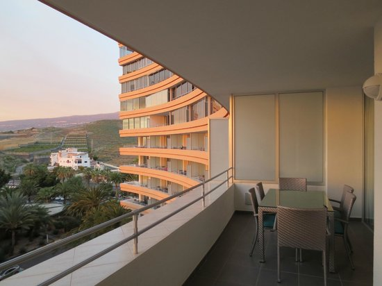 Residence Maeva Marazul Del Sur: terrasse aperu partiel (pour mobilier)