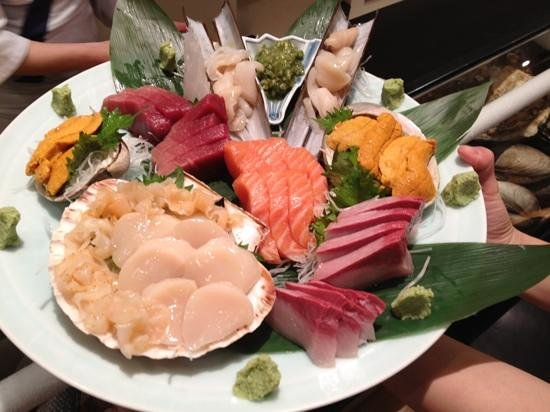 Omakase Sashimi - Picture Of Kyoto Sushi  London