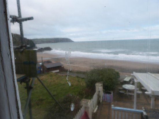 Tresaith, UK: View from Room 4