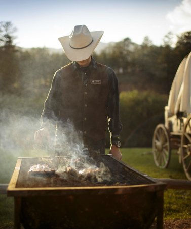 Lost Valley Ranch: Steak Cookout