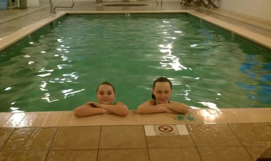 GuestHouse Hotels, Resorts & Suites Ocean Shores:                   we all had fun in the pool!