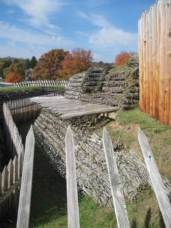 Fort Ligonier detail