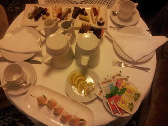 Hotel Majestic Roma : Afertnoon Tea 