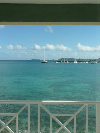 Maria's by the Sea:                   view from room