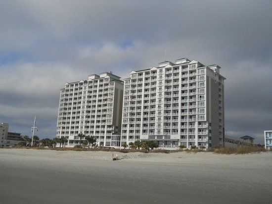 Hampton Inn Myrtle Beach-Broadway @ The Beach:                   Oceanfront at Myrtle Beach