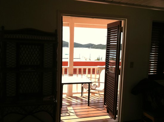 Hotel 1829: Room 12/14 looking out over Charlotte Amalie's Harbor