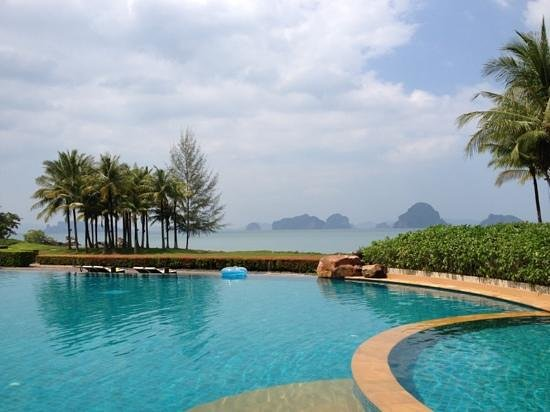 Phulay Bay, A Ritz Carlton Reserve:                   pool with a view