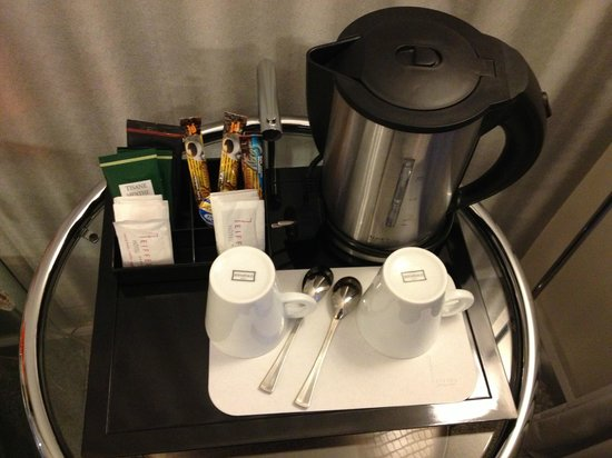 Hotel 7 Eiffel:                   coffee :) good for morning time and tea at night
