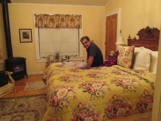 ‪‪Osmer D Heritage Inn- Bed and Breakfast‬:                   Really comfortable bed