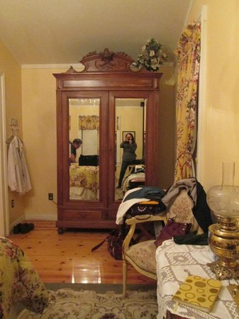 Osmer D Heritage Inn- Bed and Breakfast:                   Lovely armoire
