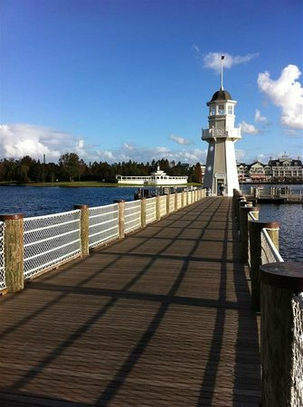 Disney's Beach Club Resort:                   Pier/Ferry dock