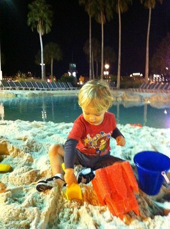 Disney's Beach Club Resort:                   Sand Pool