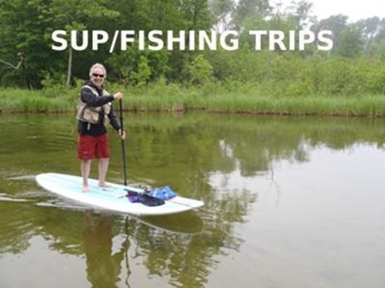 Paddle board fishing trips picture of mn surf co nisswa for Minnesota fishing trips