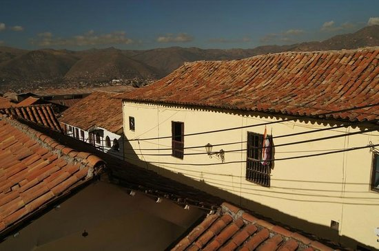 Hostal Buena Vista - Cusco:                   View from room 5