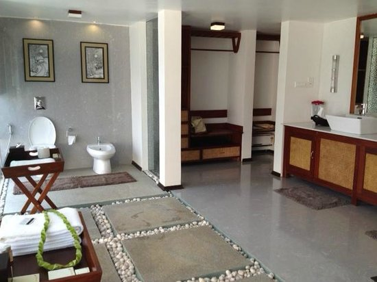 Carnoustie Ayurveda & Wellness Resort: Enormous bathroom
