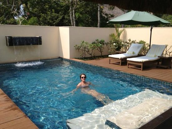 Carnoustie Ayurveda & Wellness Resort: Our very own pool