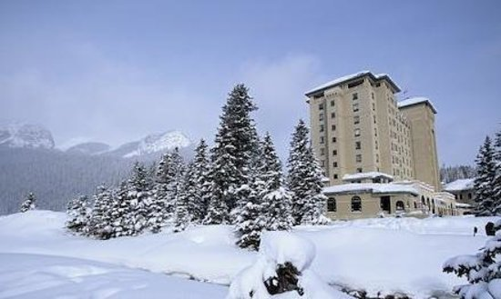 Chateau Lake Louise In Winter Picture Of Fairmont Chateau Lake Louise Lake Louise Tripadvisor