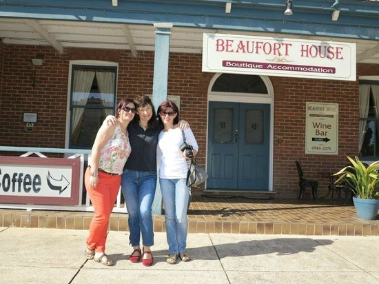 In front of Beaufort House
