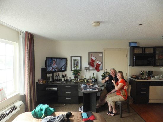 Candlewood Suites Clearwater: Christmas Eve 2012