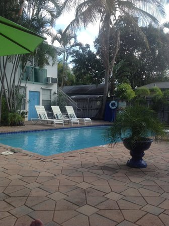 15 FTL Guesthouse: The pool area
