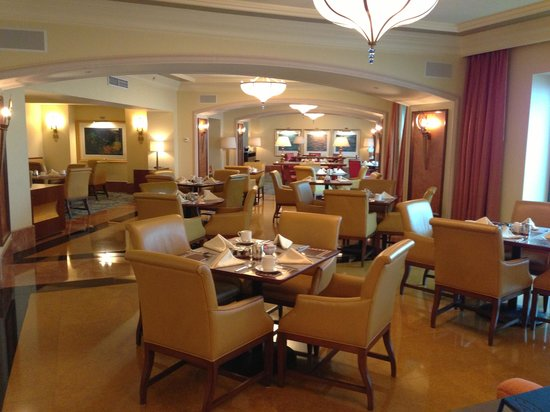 Atlantis, The Palm:                   Club Lounge
