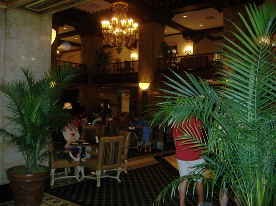 The Peabody Memphis:                   The Hotel Lobby